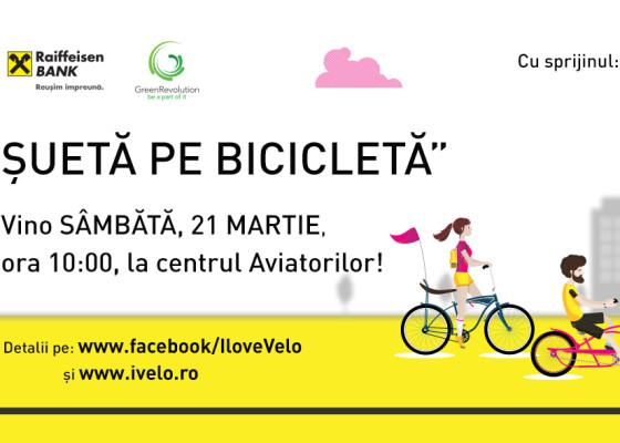 Sueta pe bicicleta