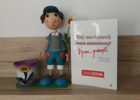 Toti marketerii spun povesti Seth Godin